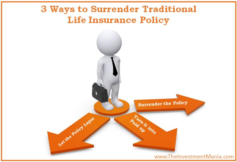 surrender life insurance policy