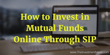 How to Invest in Mutual Funds Online Through SIP