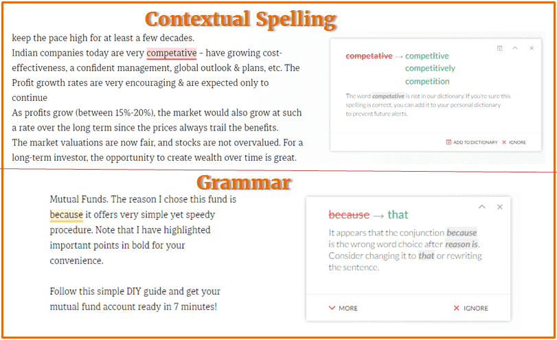 Grammarly Review - Features