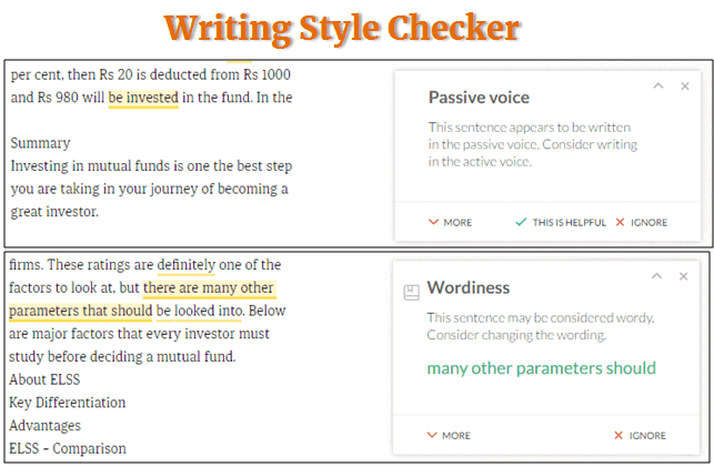 Grammarly review features